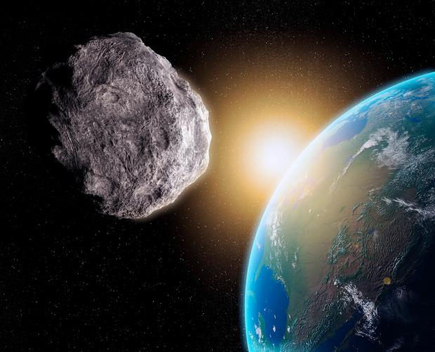 Nasa has said previously that Earth is overdue a huge asteroid strike and programmes are in places across the globe to map dangerous rocks as they move through the Solar System. Stock Image: Getty Images