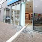 Posts were used in a botched robbery at the Carphone Warehouse store, Drogheda