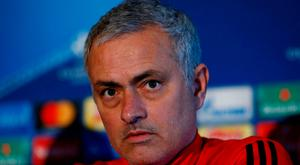 FILE PHOTO: Soccer Football - Champions League - Manchester United Press Conference - Aon Training Complex, Manchester, Britain - December 4, 2017 Manchester United manager Jose Mourinho during the press conference Action Images via Reuters/Jason Cairnduff/File Photo