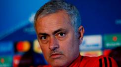 Manchester United manager Jose Mourinho has come under-fire for his criticism of his players and the club's heritage in recent days Action Images via Reuters/Jason Cairnduff/File Photo