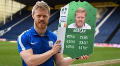 Preston North End and Republic of Ireland's Daryl Horgan spoke to Independent.ie at the launch of FIFA 18 Ultimate Team Green item, as part of this year's FUT Birthday celebration.