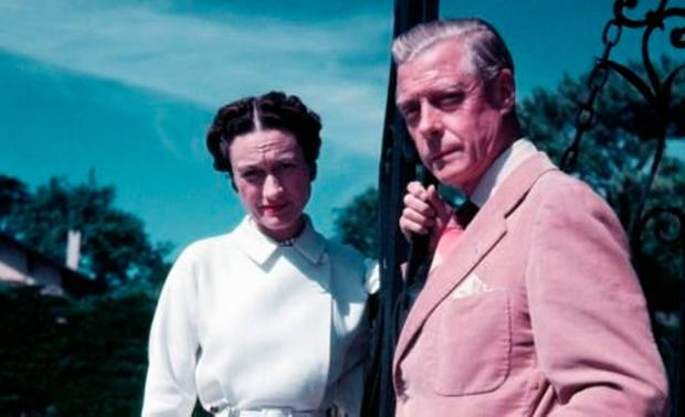 Unflattering: The Duchess of Windsor, seen here with the Duke in 1951, treated him at best like a child, and at worst with contempt