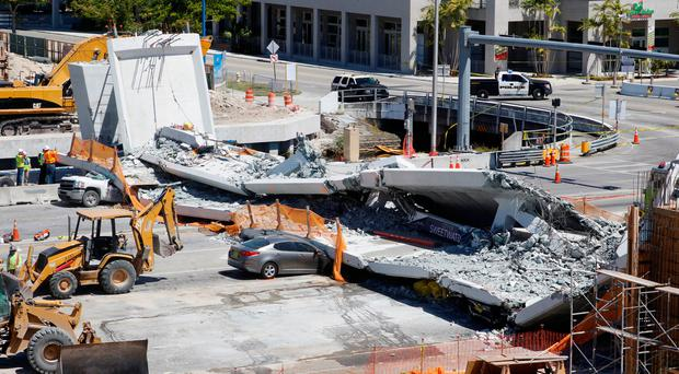 Mayor claims Miami bridge was 'stress tested' before fatal collapse