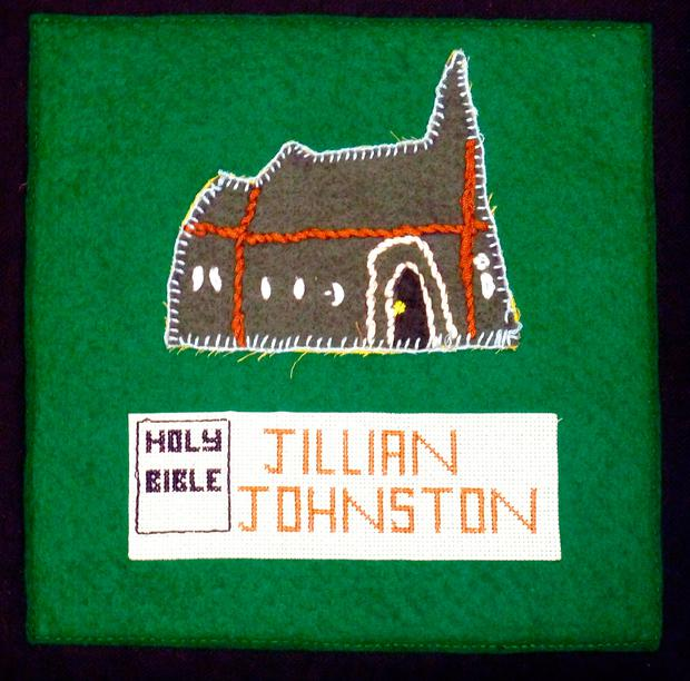 Undated handout photo of a Jillian Johnston memorial quilt. South East Fermanagh Foundation/PA Wire
