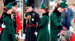 Kate Middleton and Prince William on St Patrick's Day