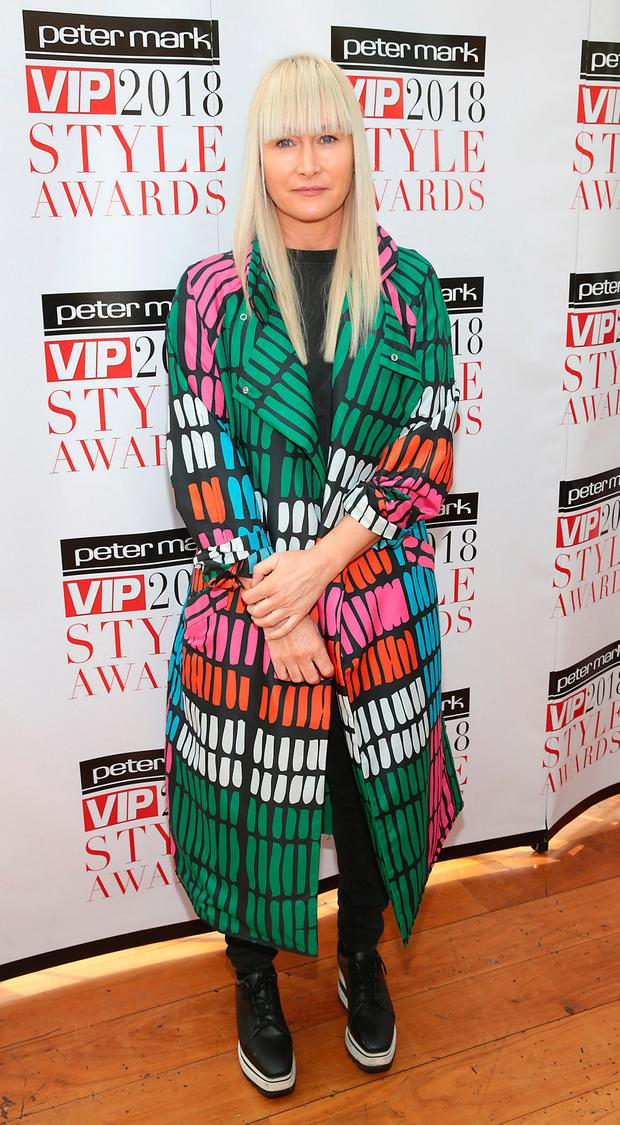 Designer Helen Steele at the launch of this year's Peter Mark VIP Style Awards at the Marker Hotel. Picture: Brian McEvoy