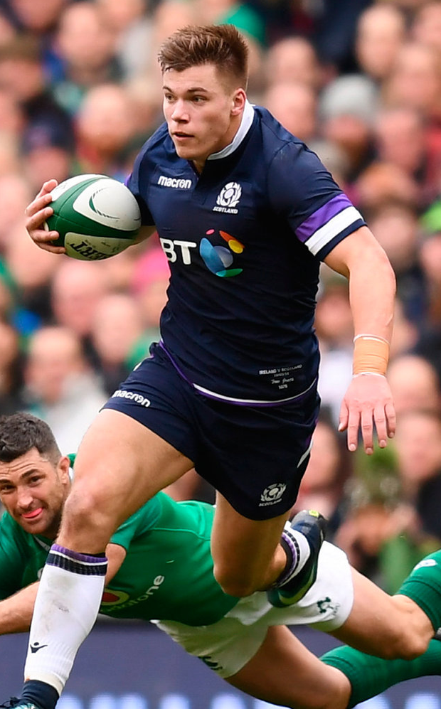 Huw Jones of Scotland. Photo: Sportsfile