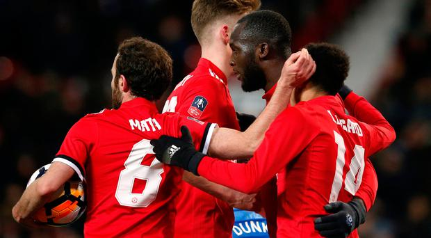 Lukaku, Matic send Man United into FA Cup semifinals