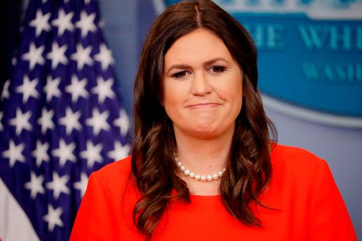 Sarah Huckabee Sanders Photo by Chip Somodevilla/Getty Images