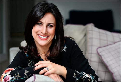 KEEP IT NATURAL: Lucy Kennedy at her Monkstown Home. The 'Ireland's Got Talent' presenter worries about lines but thinks that natural beauty is 'refreshing'. Photo: Steve Humphreys