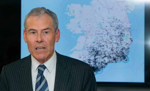 SINGLE SET OF CHARGES: Irish Water boss Jerry Grant