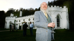 Garech Browne at Luggala