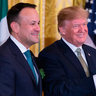 Taoiseach Leo Varadkar and United States President Donald J. Trump. Photo: Getty Images