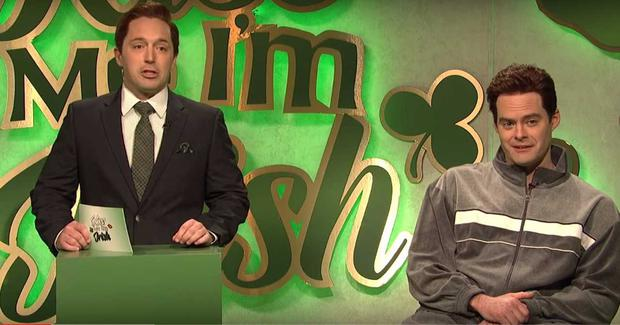 77df4611b Beck Bennett and Bill Hader in a St Patrick's Day sketch on Saturday Night  Live