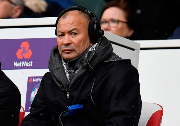 England head coach Eddie Jones. Photo: REUTERS/Toby Melville