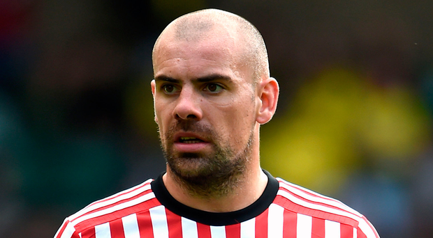 Darron Gibson's career in top-flight football could be over after his latest alleged indiscretion. Photo: PA