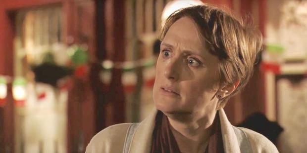 Michelle Fowler, played by Jenna Russell, in Eastenders