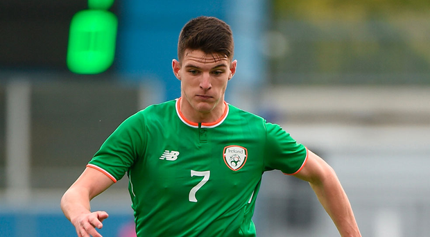 Declan Rice is fully committed to wearing the green jersey of Ireland. Photo: Sportsfile