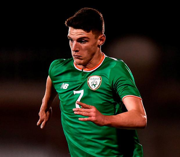 Republic of Ireland's Declan Rice. Photo: Seb Daly/Sportsfile