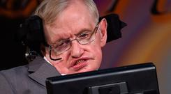 Stephen Hawking, who died last week, has published a final theory. Photo: Joe Giddens/PA