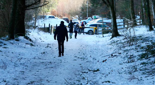 Drivers urged to take care as Arctic blast holds icy grip over much of the country
