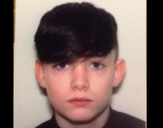 Police have appealed for help in locating 15-year-old John Crumlish