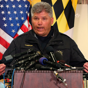 St. Mary's Sheriff Timothy Cameron. Photo: Getty Images