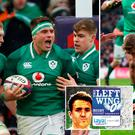 CJ Stander and Garry Ringrose scored the opening two tries in Saturday's victory