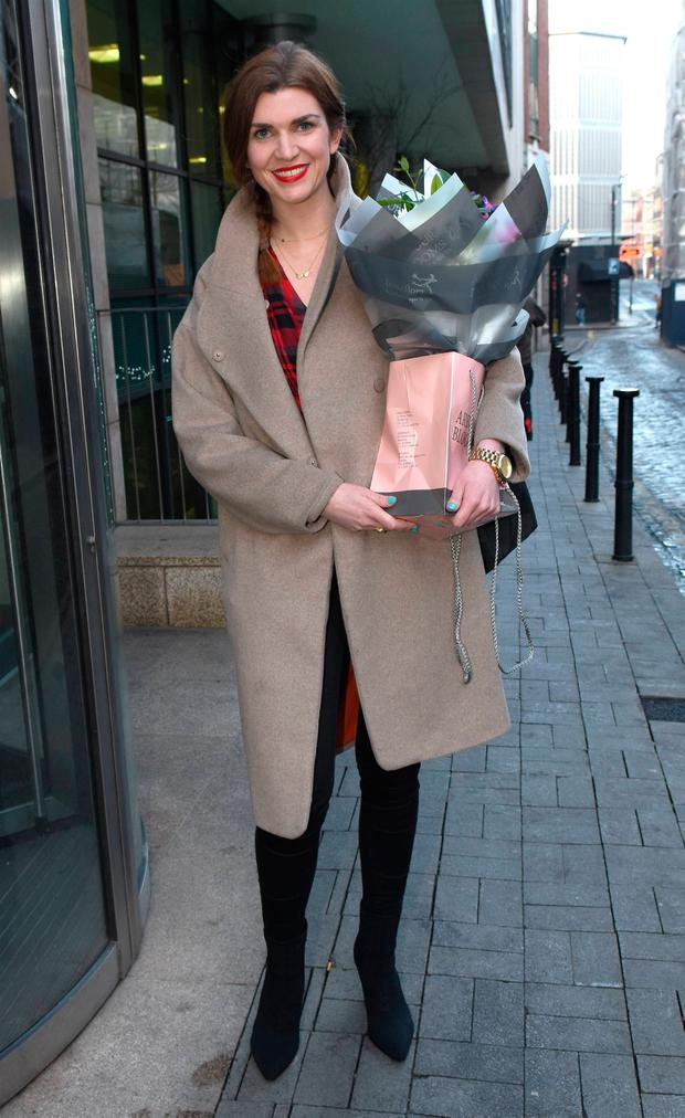 Muireann O'Connell seen leaving Today FM after it was announced she will host a brand new lunchtime show