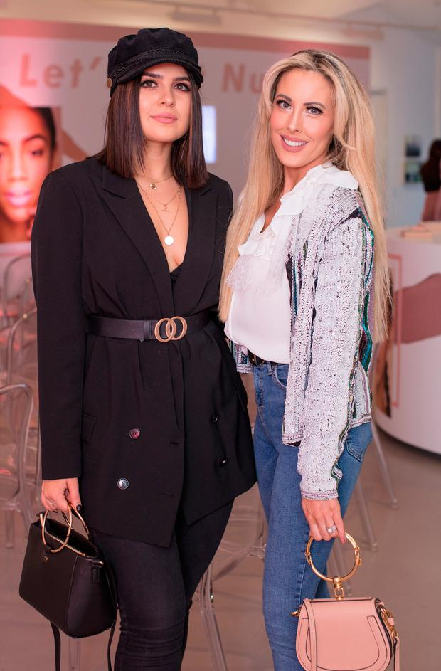 Aideen Murphy & Lisa Jordan at the launch of the PS. Beauty NUDE Collection by Primark at the RHA. Picture: Anthony Woods
