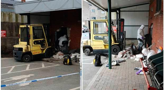 Victoria Street in Keady where the ATM was stolen / Credit: PSNI