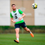 Matt Doherty during Ireland training. Photo: Sportsfile