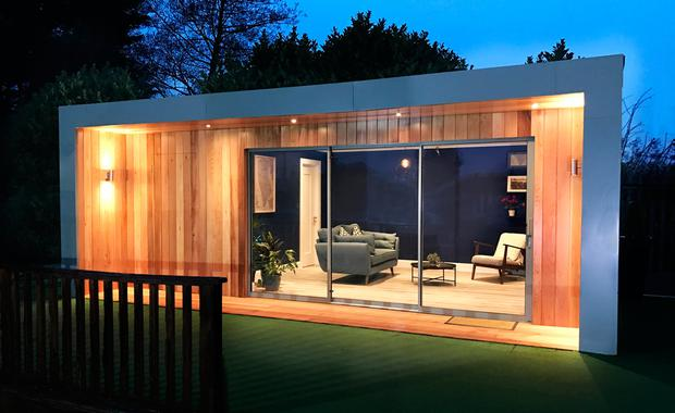 Photo from Garden Rooms, gardenrooms.ie