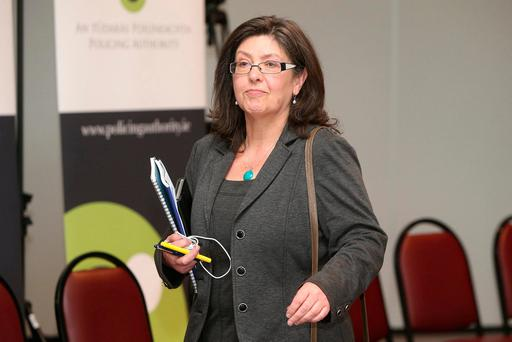 Questioned: Josephine Feehily. Photo: Damien Eagers
