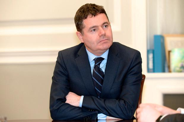 Minister for Finance Paschal Donohoe. Photo: Justin Farrelly