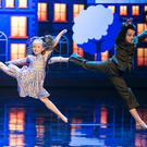 Dancers Kyle Haw (12) and Syesha Byrne Murphy (9), who are through to the final. Photo: Kyran O'Brien
