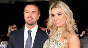 Paddy McGuinness and Christine Martin attend the Pride Of Britain Awards at Grosvenor House, on October 30, 2017 in London, England. (Photo by John Phillips/Getty Images)