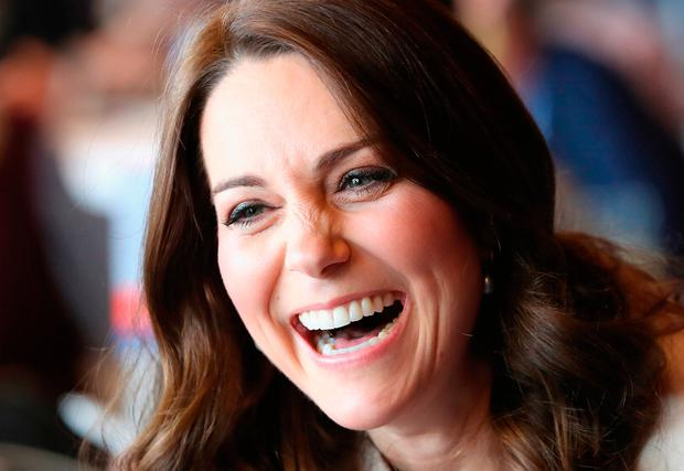The Duchess of Cambridge during a SportsAid event at the Copper Box in the Olympic Park, London