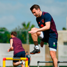 Seamus Coleman during Republic of Ireland squad training at Regnum Sports Centre