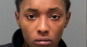 Brianna Lofton was charged with child abuse after video surfaced of her baby smoking marijuana Photo: RALEIGH POLICE DEPARTMENT