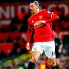 Zlatan Ibrahimovic is set to sign a two-year deal with MSL side LA Galaxy. Photo: Martin Rickett/PA Wire