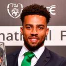 Cyrus Christie. Photo: Seb Daly/Sportsfile