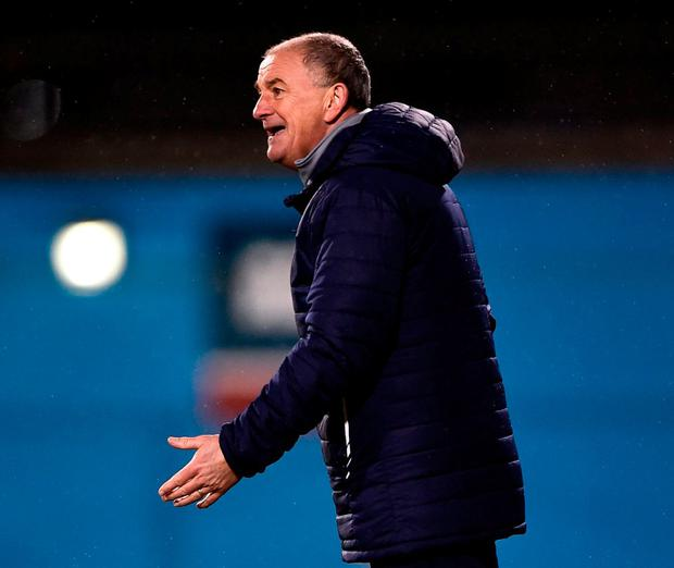 Republic of Ireland manager Noel King. Photo: Seb Daly/Sportsfile