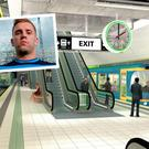 Artist's impression of one of the MetroLink stations and (inset) Dublin star Jonny Cooper