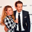 Blake Lively and Ryan Reynolds attend the 'Final Portrait' New York screening at Guggenheim Museum on March 22, 2018 in New York City. / AFP PHOTO / ANGELA WEISSANGELA WEISS/AFP/Getty Images