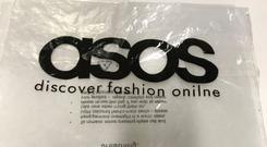 ASOS shared a pic of their mistake on Twitter