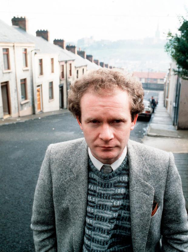 North-south divide: McGuinness had become disillusioned with the 'Brits in the south'