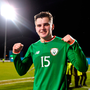 Ronan Hale of Republic of Ireland following his side's victory