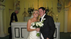 Ciara Deegan and her husband Stephen.