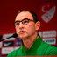 Martin O'Neill during a press conference at Antalya Stadium